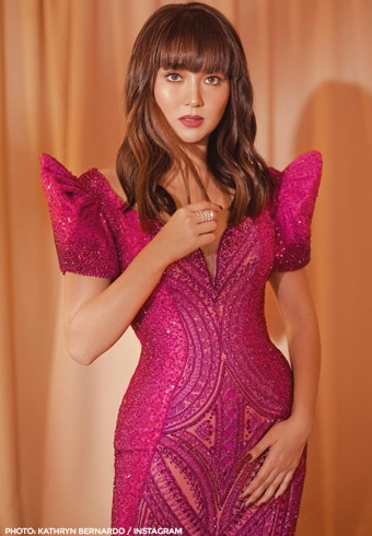 The gowns designed by Michael Cinco for Kathryn Bernardo 9