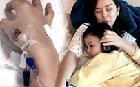 Beauty Gonzalez, in recovery after suffering from viral infection