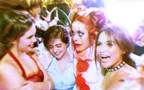 Liza, Sue, Michelle, and Elisse recreate their halloween photo at the ABS-CBN Ball!