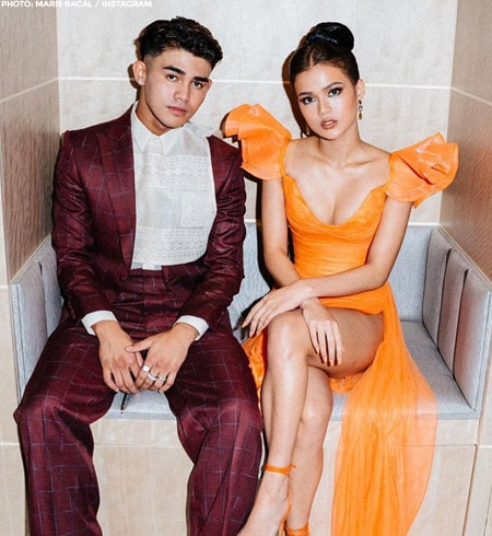 Maris and Iñigo's dazzling red carpet looks at the ABS-CBN Ball