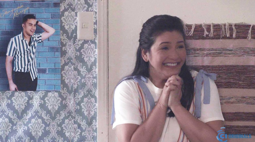 "Behind-the-scenes photos from the set of Regine's upcoming film ""Yours Truly, Shirley."""