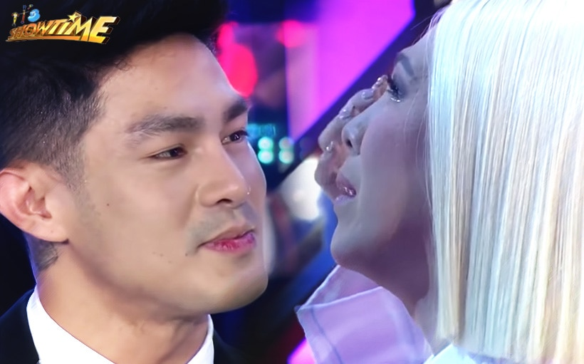 Vice Ganda, Ion Perez exchange 'I love you's' for the first time!
