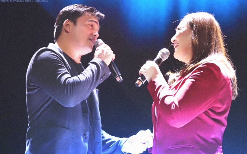 Sharon Cuneta, Gabby Concepcion reunite on stage after two decades!