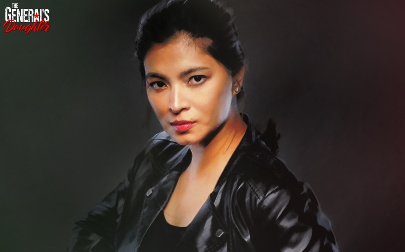 Angel Locsin does a death-defying stunt for 'The General's Daughter' finale week!