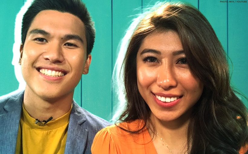 Kiara Takahashi and Gino Roque IV are your MYX Celebrity VJs this October!