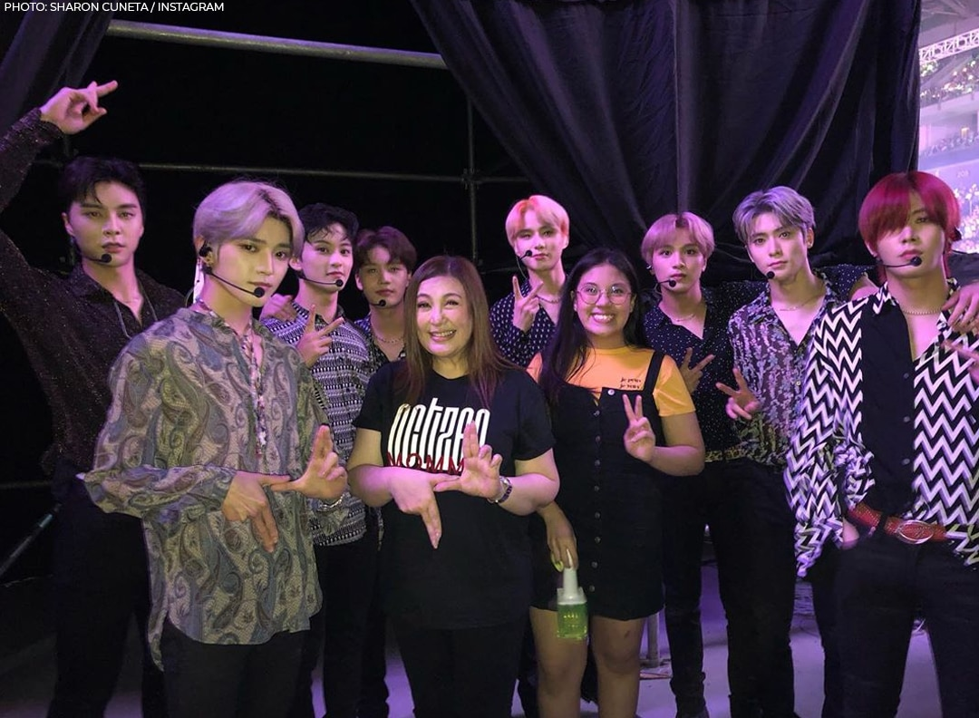 Sharon Cuneta with NCT 127