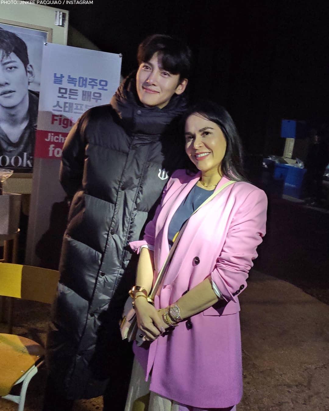 Jinkee Pacquiao with Ji Chang Wook