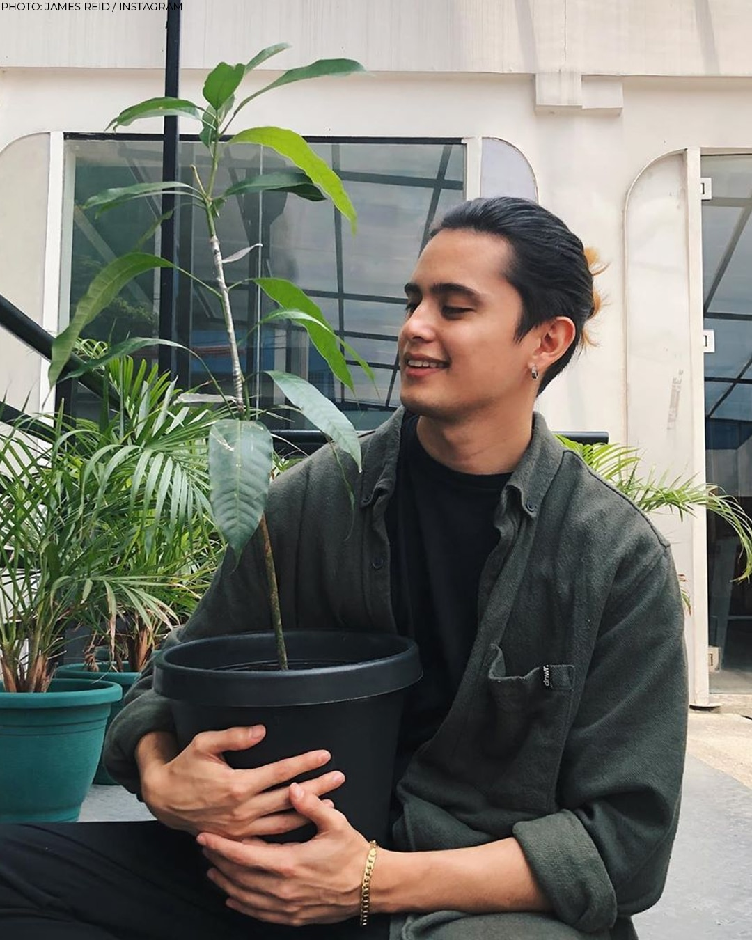 As the Ambassador of Food Security, James Reid is using his time to help cultivate Philippine agriculture!