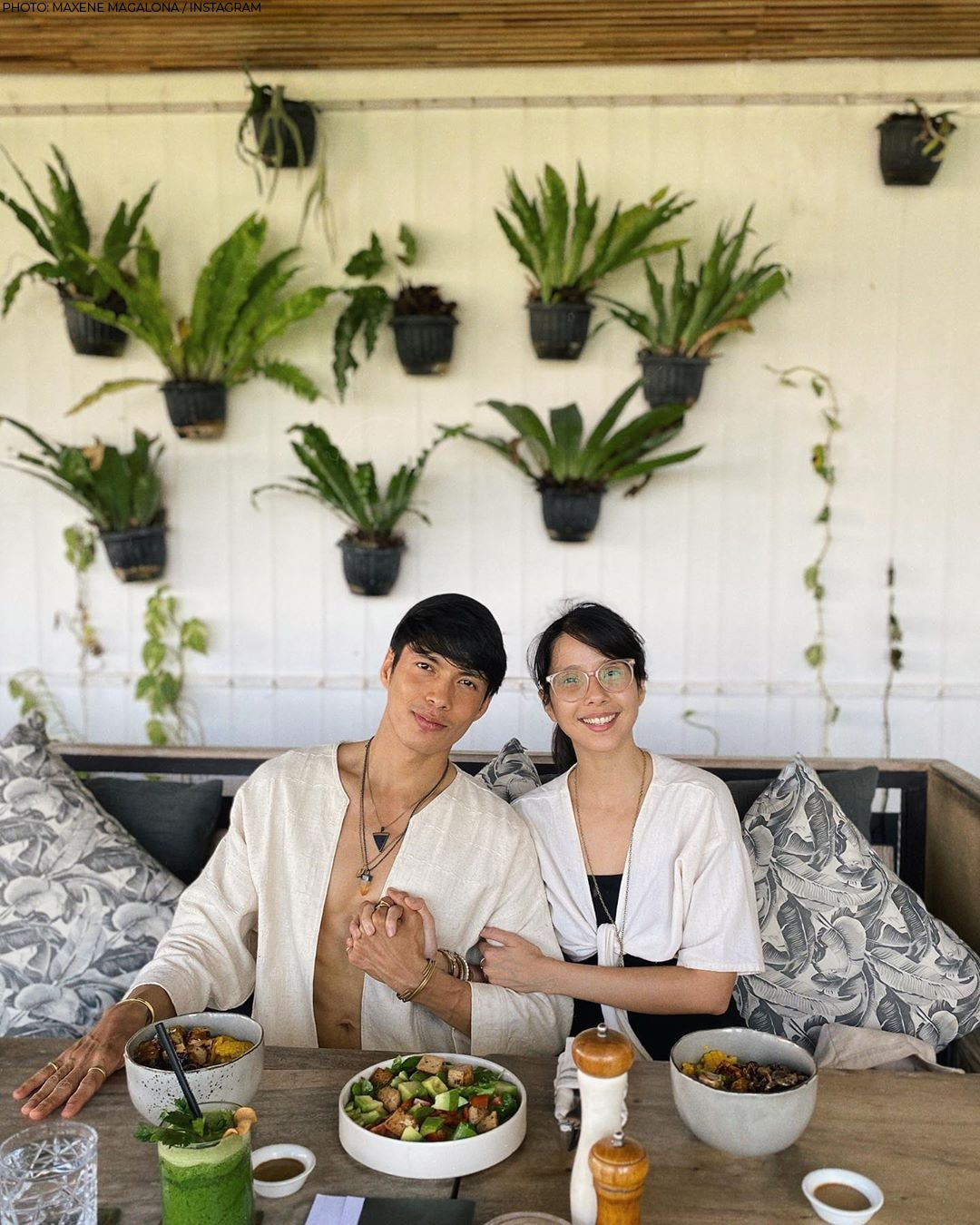 Maxene Magalona and Rob Mananquil in Bali, Indonesia