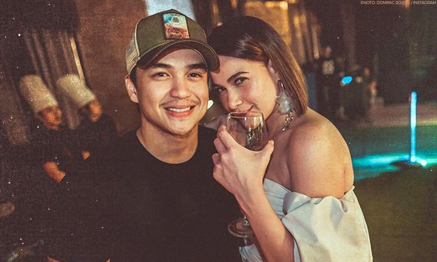 Dominic Roque leaves a 'kiss' on Bea Alonzo's photo