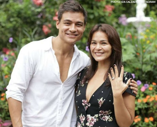 Iza exchanged vows with British entrepreneur Ben in a beautiful beach wedding in Palawan last December 2018!