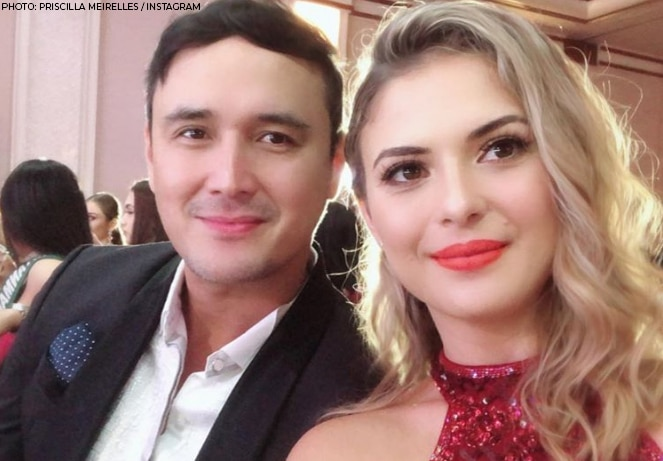John and Brazilian wife Priscilla celebrated their 9th wedding anniversary last February. It was in 2011 when they got hitched in a private ceremony in La Union.
