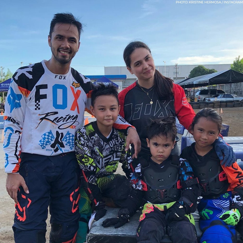Kristine Hermosa and Oyo Sotto's family photos!