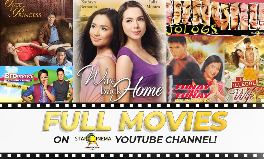 LIST: Full movies you can watch on Star Cinema's Youtube this September!