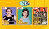This Week on 'We Rise Together': Yam on her 'Love Thy Woman' experience, a glimpse of Gerald's private resort + more!