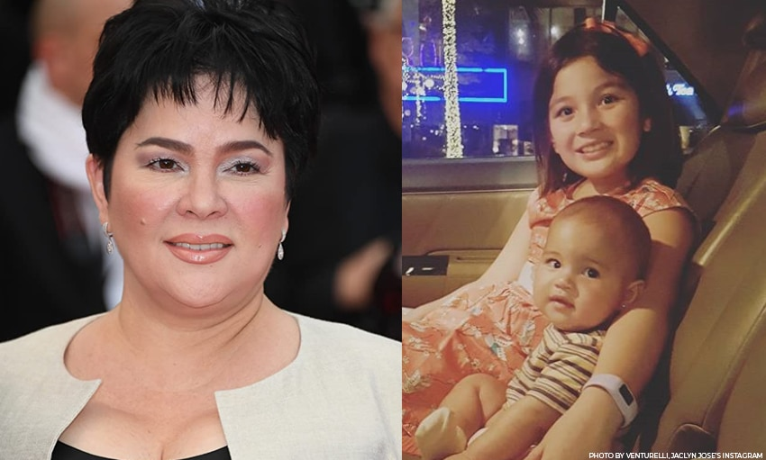 Cannes Film Festival 2016 Best Actress Jaclyn Jose and grandkids Ellie and Lilo!