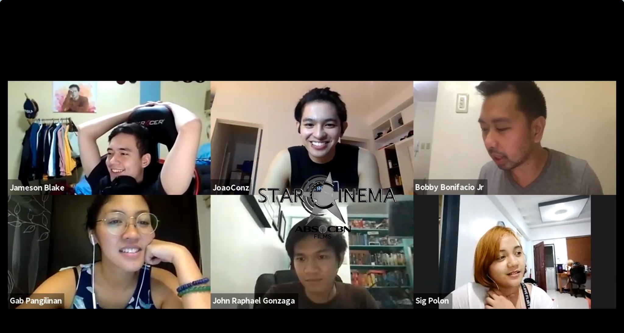 Fun virtual meeting with the cast and production!