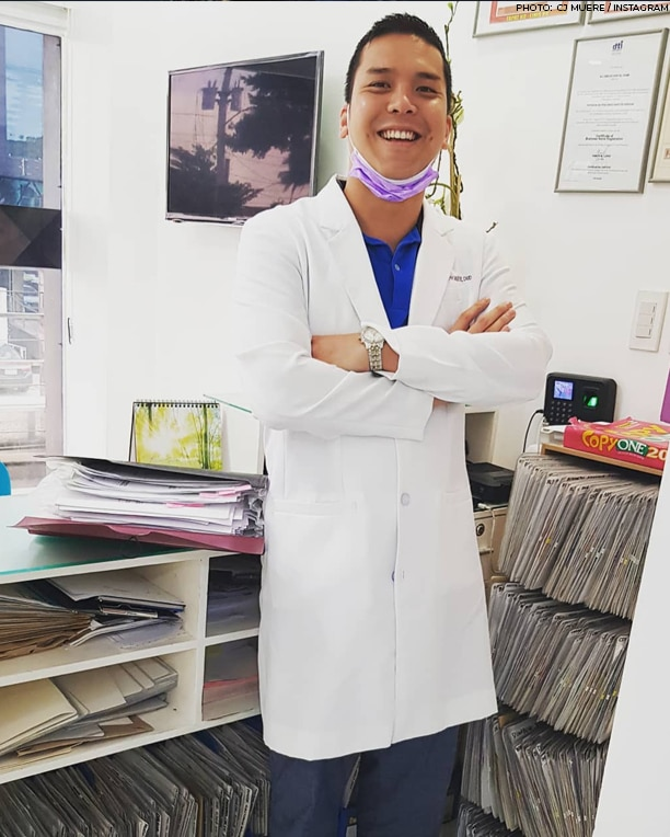 """The """"StarStruck"""" alum CJ Muere now works as a dentist"""