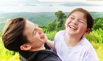 Jake Ejercito spends some time outdoors with daughter Ellie!