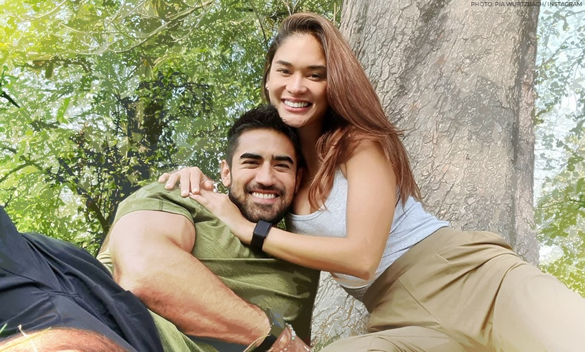 Pia Wurtzbach goes on a picnic with Jeremy Jauncey for her birthday!