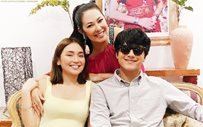 Ruffa Gutierrez shares photo with KathNiel from 'The House Arrest Of Us' set!