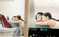 THROWBACK: Remember this candid moment of KathNiel on the set of 'Can't Help Falling In Love'?