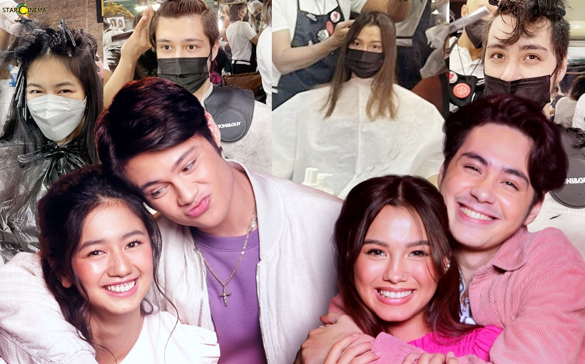 LOOK: Kaori, Daniela, Rhys + Anthony undergo makeover for 'Love at First Stream'