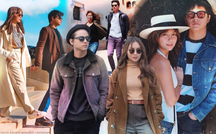 PHOTOS: Kathryn and Daniel's best OOTDs together