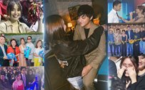 10 times Kathryn and Daniel supported each other's individual projects