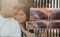 Neil Arce honors wife Angel Locsin with a tattoo