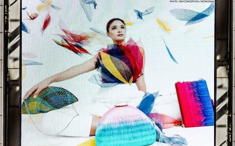 LOOK: Yam Concepcion's ad once again featured in Times Square, New York