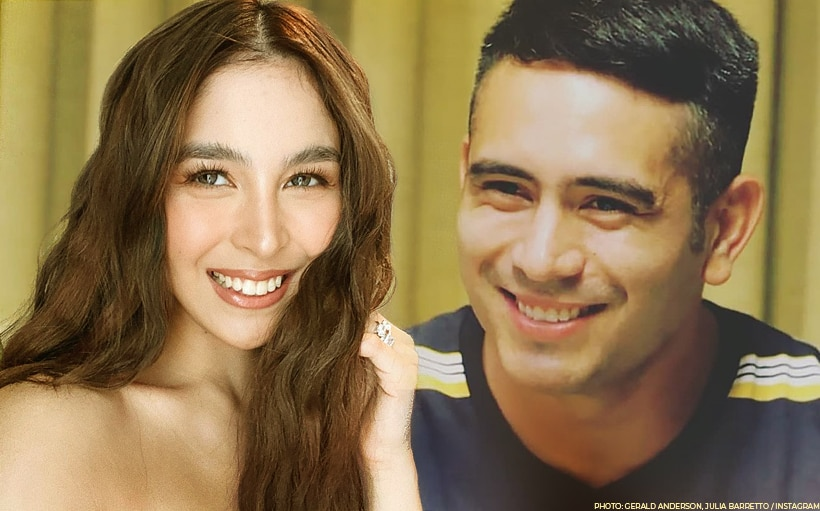 'Hi, Love!': Julia gives Gerald a shoutout after he tuned in on her Instagram Live