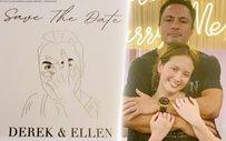Ellen Adarna, Derek Ramsay send out wedding invitations to their ninongs and ninangs