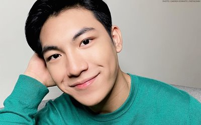 LOOK: Darren Espanto is stoked to be back in the Philippines!