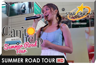 Kathryn captivates fans with her voice in