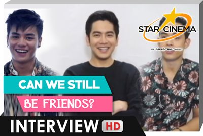 Kaya mo bang maging friend si EX? | Joshua, Ronnie, Diego | 'Can We Still Be Friends?'