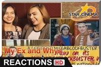 Reactions | Feel na feel and Feb-ibig! | 'My Ex and Whys'