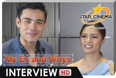 Interview | KimXi, BiCol, Gerald Anderson | 'My Ex and Whys'