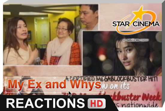 Reactions | Mapa-bagets o young at heart, damang dama ang hugot nila Cali at Gio! | 'My Ex And Whys'
