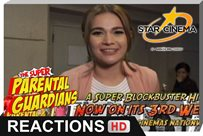 Reactions | Bea Alonzo | 'The Super Parental Guardians'