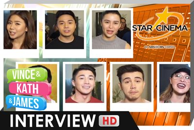 Interview | Andie, Arron, Miles, Sam, Arjo, Enzo, Yassi | 'Vince and Kath and James'