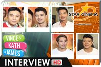 Interview | Gerald, Rayver, Edgar Allan, Zanjoe, Jericho | 'Vince and Kath and James'