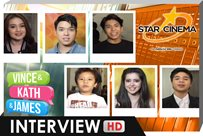 Interview | Nash, Elmo, Sue, Bugoy, Onyok | 'Vince and Kath and James'
