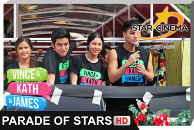 Parade of Stars | 'Vince and Kath and James'