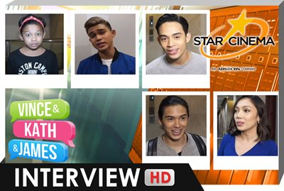 Interview | Jona, Tommy, Diego, Inigo, Awra | 'Vince and Kath and James'