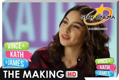 The Making | Julia Barretto | 'Vince and Kath and James'